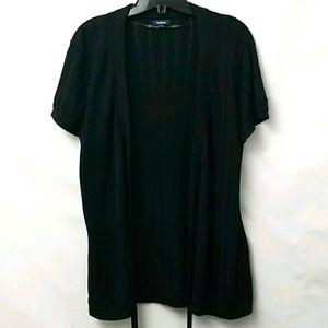 Reitmans Womens Cardigan Sz XL Black